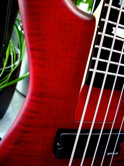 e-bass-gitarre